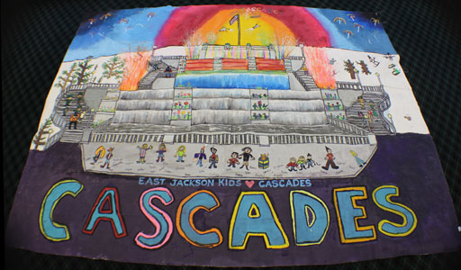 East Jackson Community Schools Mural Entry