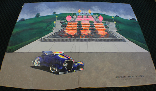 Jackson High School Mural Entry