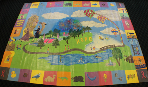 Northwest Community Schools Mural Entry